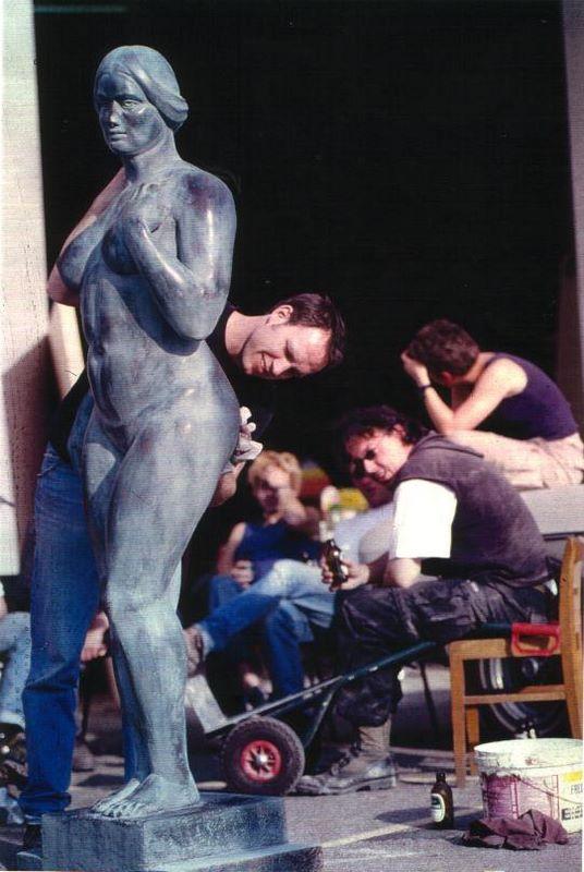 sculpture a la maniére de Maillol